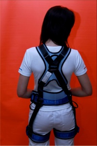 Cross Over Plus (Sit Harness) Back (Low Res)